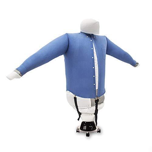 EOLO Stiracamicie Stira e Asciuga in automatico camicie camicette felpe polo. Rinfresca abiti StirAsciugatore base con ruote Made in Italy Garanzia 5 anni SA02ITA