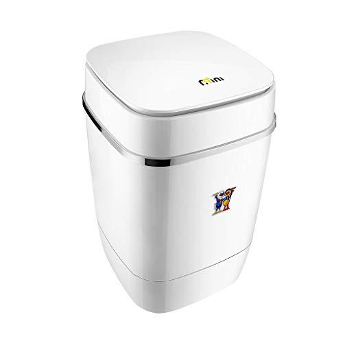 Lavadora Ligera, Mini Secadora de Interior Semi-automática de bajo Consumo, bajo, Dormitorio de niños, Hotel de Apartamentos Blanco