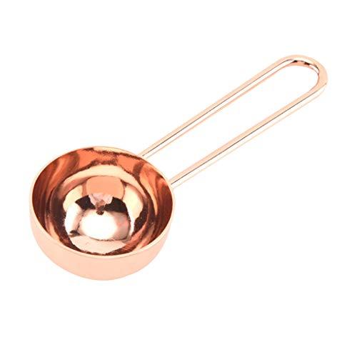 Keuken metende lepels bakken ingrediënten koken meel kruiden koffiepoeder maatlepel, Rose Gold