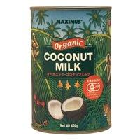 マキシマス・オーガニック ココナッツミルク 400g×6個セット