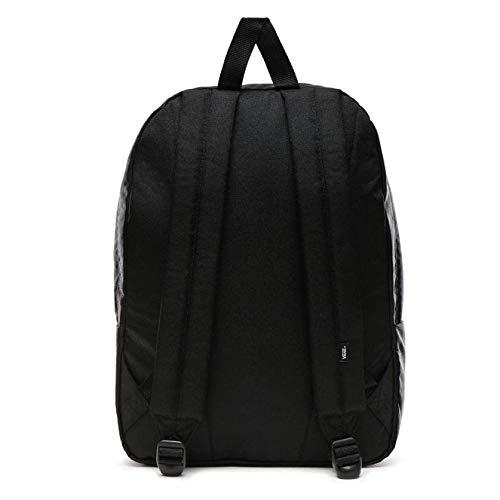 mochilas cuerda vans negra