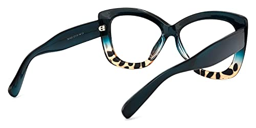 Voogueme Butterfly Glasses Eyeglasses with Clear Lens for Women Undra OP071873