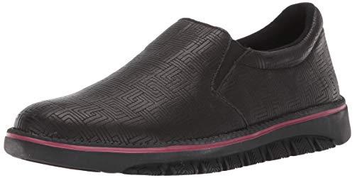 Spring Step Professional Women's Power-Maze Uniform Dress Shoe, Black, 10.5 Medium US