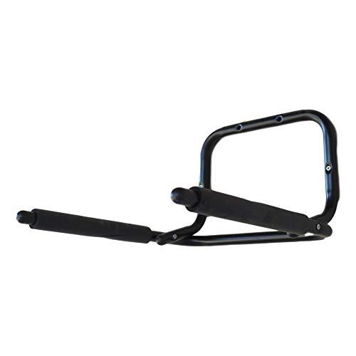 w-mtools Wandhalter Fahrrad Klappbar platzsparende Fahrradhalterung mit extra-starkem Rahmenschutz weiche Schaumstoffpolsterung
