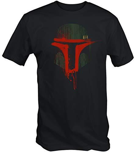 6TN Mens Urban Bounty Hunter T Shirt (Medium) Bl