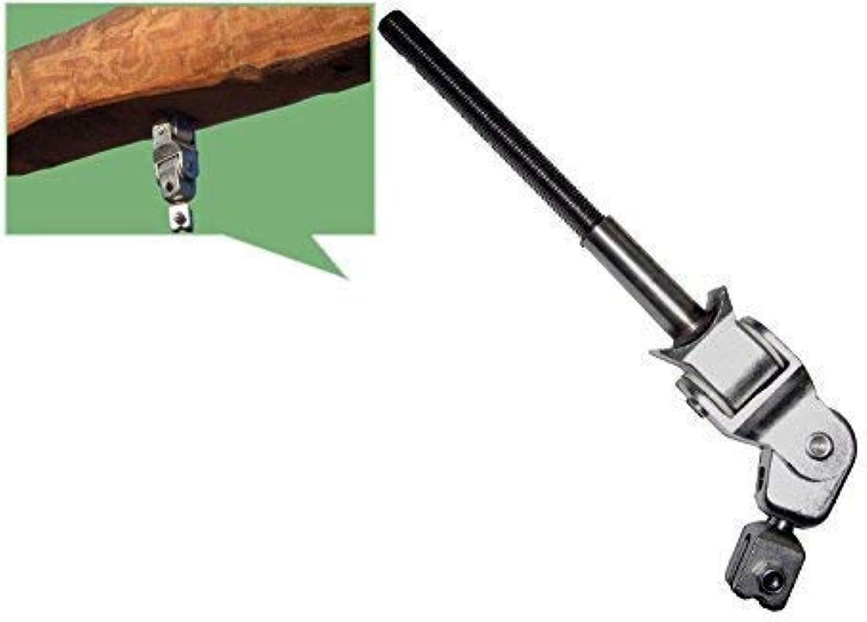 R&T STAINLESS Giunto Croce Ganci Altalena Altalena Congiunta M16x160mm per Altalena a Nido con Tondo in Legno