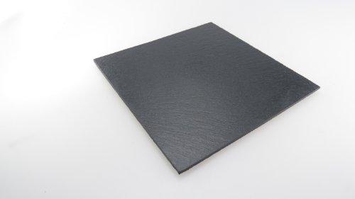 Lebrun 410125250104 Assiette Carré Ardoise 25 x 25 cm