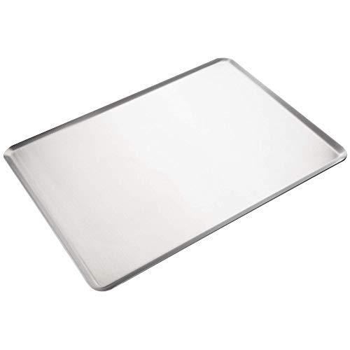 Erreke – Bandeja de Horno de Aluminio, 46x33 cm (espesor 2mm), Calidad Profesional, Hecho en Europa. (Aluminio)
