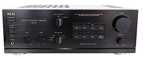 Akai AM-35 Stereo Verstärker in schwarz