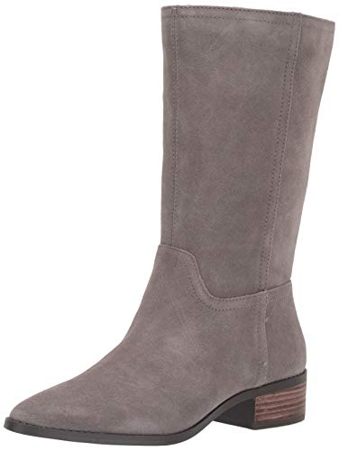 Lucky Brand Women's LEFARA Mid Calf Boot, Titanium, 6
