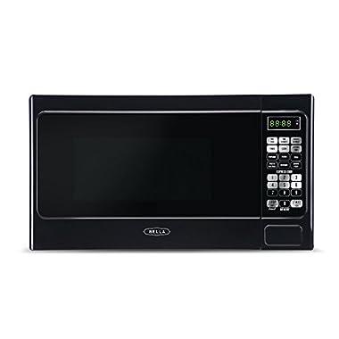 Bella BMO07ABTBKB 700W Compact Digital Microwave Oven, 0.7 cu. ft., Black