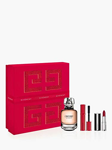 PARFUMS GIVENCHY L'Interdit femme/woman Duftset (Eau de Parfum,50ml+Mascara,4g+Rouge1.5g), 200 g
