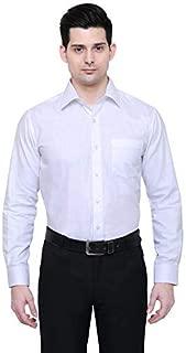 PROLIAN Men's Linen Cotton Casual Shirt for Men Full Sleeves