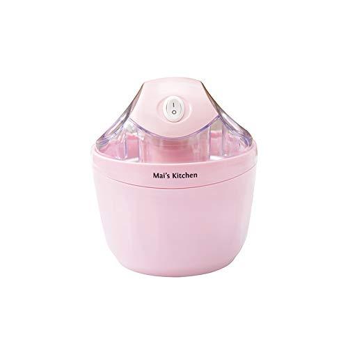 Ice Cream en Sorbet Maker, Frozen Yoghurt, Gelato, en Custard Machine, inbegrepen makkelijk te maken recepten door Classic Cuisine,Pink