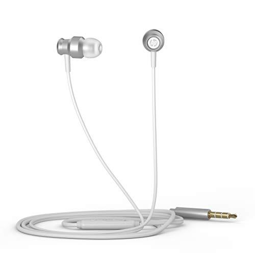 HP DHH-3111 Auricolari In-Ear con Filo e Microfono - Argento