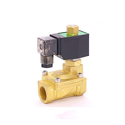 Ventiler, beslag Normalt Öppna 2Way Pilotmembran Mässing Solenoidventiler för vattenflödesstyrning 3 / 8inch 24VDC 15mm 0,5-13BAR (Voltage : AC24V)