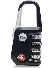 Yönetici Şifreli Asma Kilit (TSA Onaylı) - Siyah