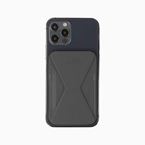 MOFT スマホ iPhone マグセーフ対応 ウォレットスタンド mag safe iPhone12 pro mini (グレー)