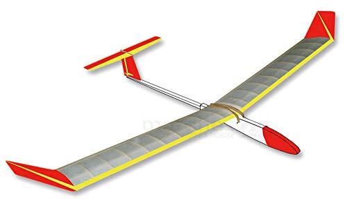 matches21 XXL Segelflieger großer Gleiter Segler ca. 120 cm Bausatz f. Kinder Werkset Bastelset - ab13 Jahren