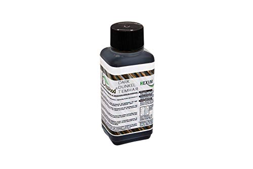 100 ml   rustikale Farbe für Balken, Bretter und Konsolen   DW dunkel
