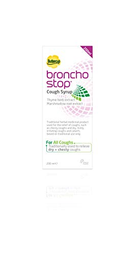 Bronchostop Cough Syrup - Traditionally Used to Relieve Any Type of Cough - 200 ml