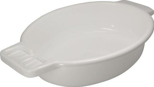 Waschschale Waschschüssel aus Kunststoff mit Seifenablage, Farbe: weiß *Top-Qualität zum Top-Preis*