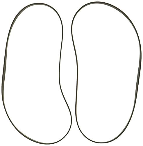 Hoover AH20065 T-Series Flat Non-Stretch Belt, Pack of 2