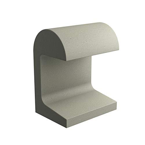 Baliza de la colección Casting, versión Concrete, led, 9W, 513 3000K CRI 80, 18 x 25 x 32 centímetros, color gris hormigón (referencia: F1331089)
