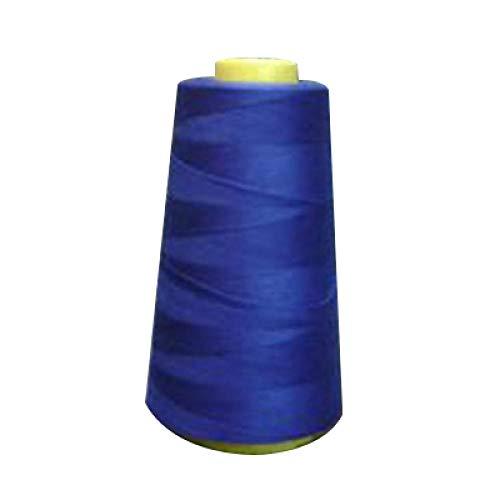 YAOUO3FR3000Yards Máquina De Coser Industrial Poliéster Hilo Medidor Conos Hilo De Poliéster De Color Azul