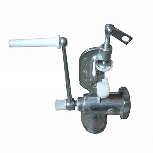 YCX Manuelle Saftpresse 304 Edelstahl Juicer, Extractor Juice Presser Juice Machine DIY Entsafter Tool Für Früchte Gemüsesaft,Natural
