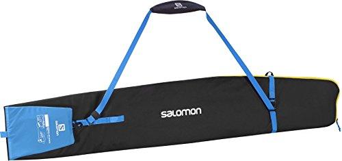 SALOMON(サロモン) スキーケース スキースリーブ ORIGINAL 1P SKISLEEVE Black/Process Blue/Corona Yellow L38283600