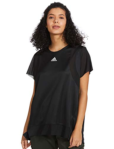 adidas TRNG tee H.RDY Camiseta, Mujer, Negro, XS