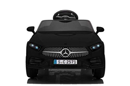 Babycar Mercedes CLS 350 AMG ( Nera ) Nuova con Sedile in Pelle Macchina Elettrica per Bambini Ufficiale con Licenza 12 Volt Batteria con Telecomando 2.4 GHz Porte Apribili con MP3