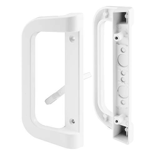 Prime-Line C 1177 Door Handle Set, White