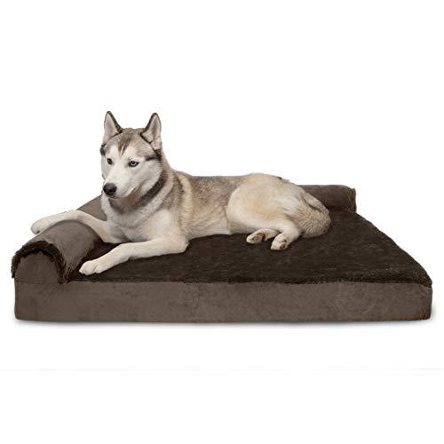 furhaven Memory Top Recamiere Pet Bett für Hunde und Katzen