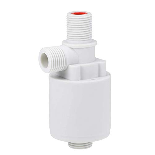 Ctzrzyt VáLvula de Control de Nivel de Agua AutomáTica de 1/2 Pulgada VáLvula de Bola Flotante VáLvula de Flotador de Tanque de Agua de Torre