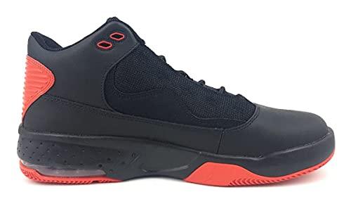 Nike Jordan MAX Aura 2 - Altavoz, Hombre, Black White Chile Red, 40 EU