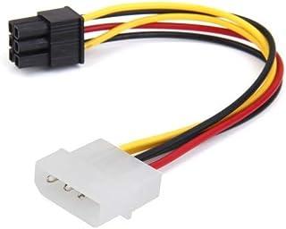 Cable alimentacion 4 Pines Macho Molex a 6 Pines PCI Express 15 cm