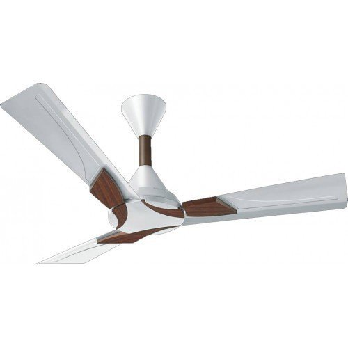 Orient Electric Wendy Ceiling Fan Pearl White Walnut 48'...