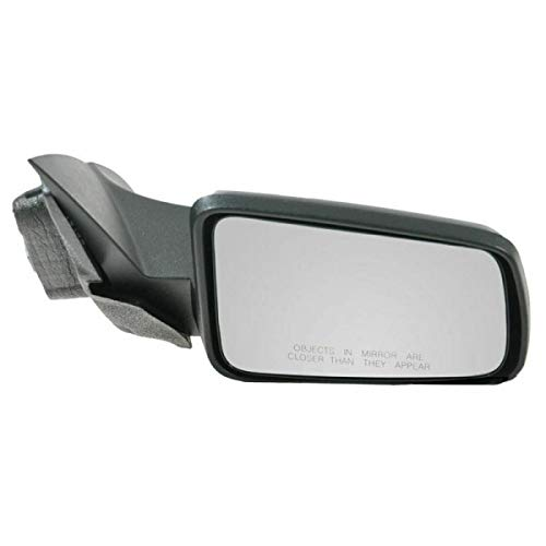 AutoShack KAPFO1321318 Right Passenger Power Paint to Match Smooth Non-Heated Non-Folding Side View Mirrors Replacement for 2008-2011 Ford Focus 2.0L 2.5L