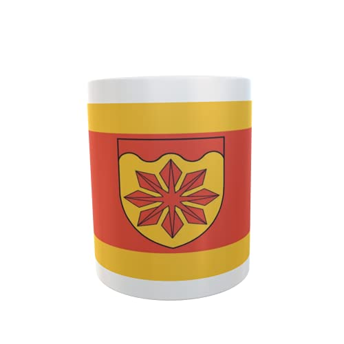 U24 Tasse Kaffeebecher Mug Cup Flagge Meerbusch