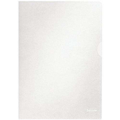 Esselte Sichthüllen-Set Standard Plus, 10 Stück, A4 Format, Farblos mit matter Oberfläche, 0,115 mm PP-Folie, 54820