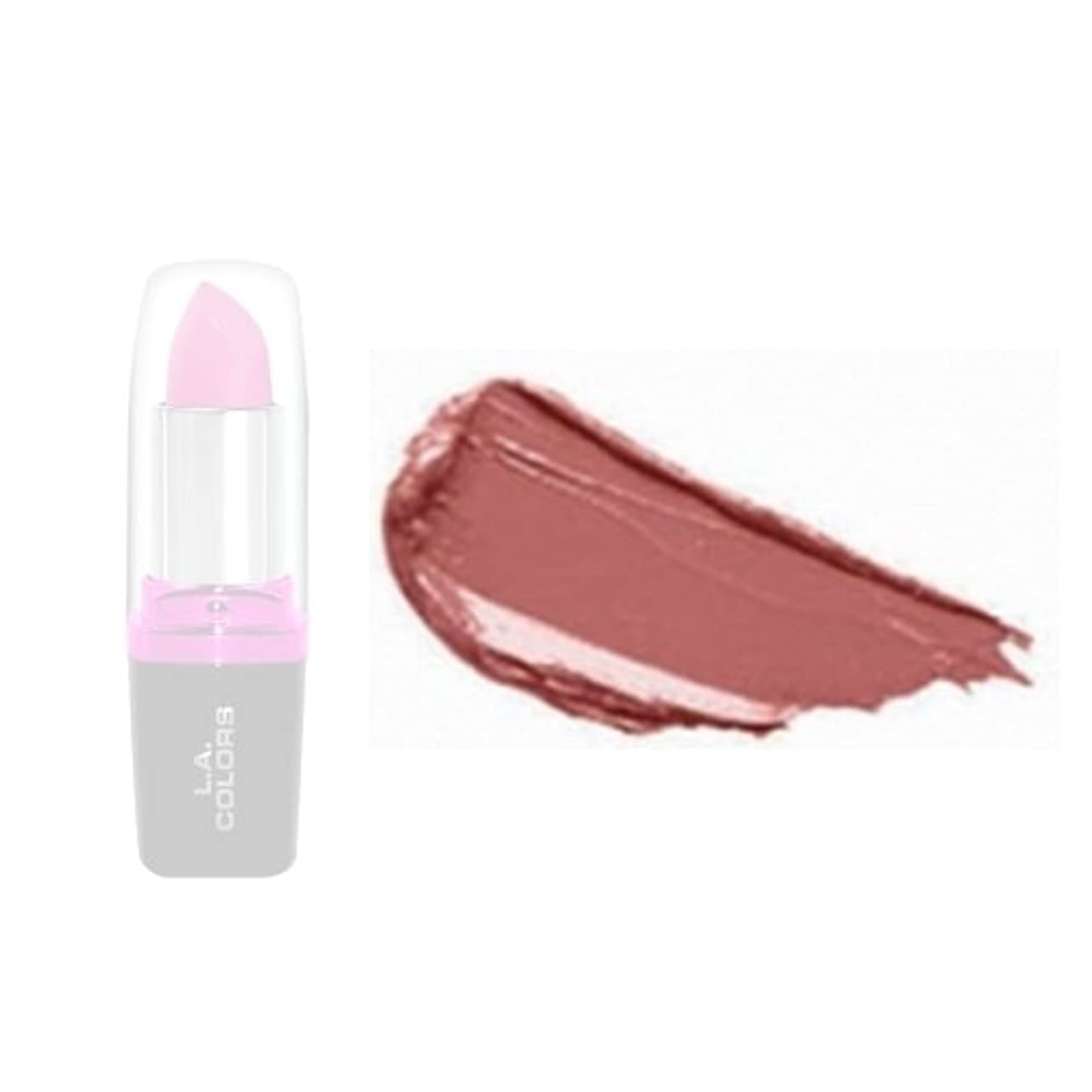 ショートカット許容できる自伝(3 Pack) LA Colors Hydrating Lipstick - Latte (並行輸入品)
