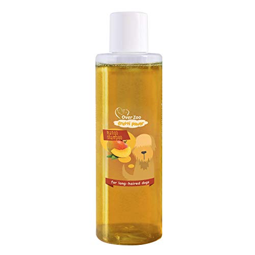 Over-Zoo Frutti Power (200 ml) - Champú neutro y hipoalergénico para perros con piel sensible y delicada - mango