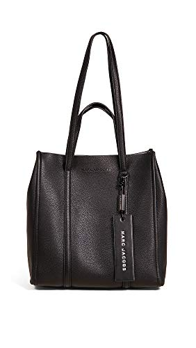 Marc Jacobs Women's The Tag Tote 27, Black, One Size