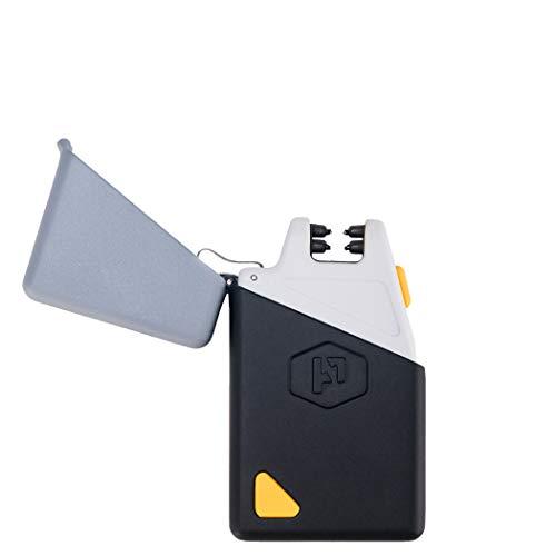 Sparkr Mini Plasma-Feuerzeug | Elektronisches Premium Lichtbogen Feuerzeug | aufladbar über USB | leicht und robust | mit integrierter Taschenlampe | inkl. USB Kabel