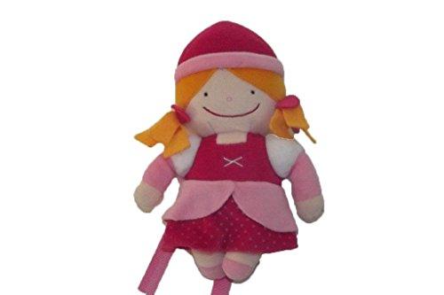 X- otros–Doudou itslmagical Poupee rosa parlante–6385