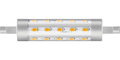 Philips 52253000 A++ LED-Leuchtmittel, Plastik, 6,5 W, R7s, transparent