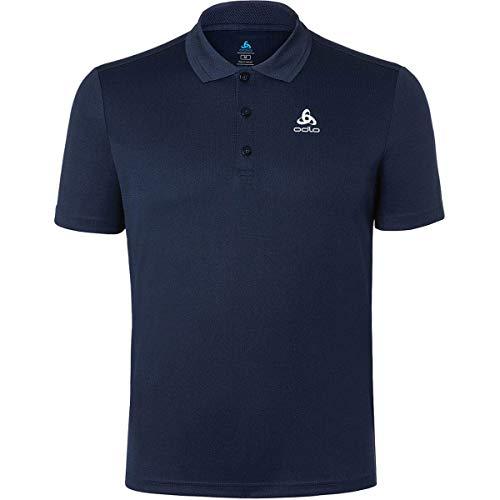 Odlo Herren Polo Shirt s/s Timo Poloshirt, Diving Navy, XL