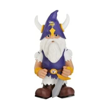 "Forever Minnesota Vikings Garden Gnome 11"" Thematic"